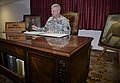 Kenneth Moore at George Patton's Desk (22200415629).jpg