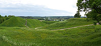Kernavė - Hill forts 01-bluer skies.jpg