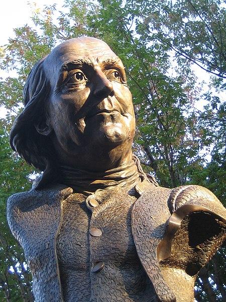 Keys To The Community Statue in Philadelphia