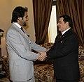 Khaled K. El-Hamedi With Tunisian President Zine El Abidine Ben Ali.jpg