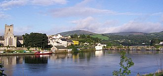 Killaloe, County Clare - Killaloe on the River Shannon with St. Flannan's Cathedral on the left
