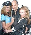 Kimber Lace, Stuart Wall, Katie Ray at Halloween Party 2.jpg