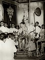 King Rama IX being presented with regalia at coronation.jpg