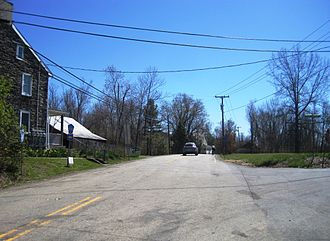 Kingwood Township, New Jersey - Community of Kingwood located near the center of the township