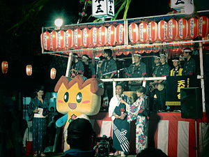 Kiryū, Gunma - Kinopi, mascot of Kiryu city