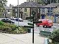Kipping Gardens Bronte Signpost - geograph.org.uk - 1496805.jpg