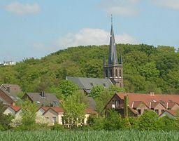 Die St.Franziskus Kirche in Hochdahl-Trills.