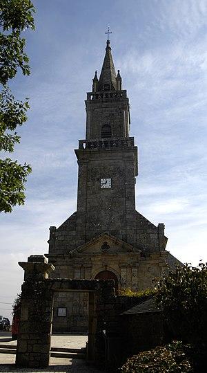 Ploemel - The Church of Saint-André, in Ploemel