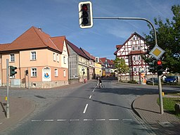 Kirchworbis - Kreuzung B80