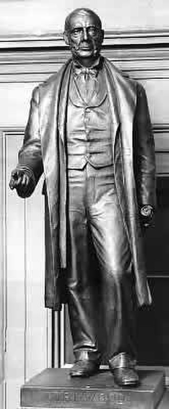 Samuel J. Kirkwood - Samuel J. Kirkwood statue in the National Statuary Hall Collection  in the United States Capitol.