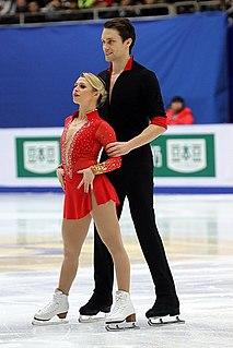 Michael Marinaro Canadian pair skater