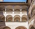 Klagenfurt Alter Platz 1 Palais Rosenberg Innenhof Arkaden 18072016 3169.jpg