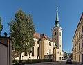 Klagenfurt Voelkermarkter Strasse Rektoratskirche St Elisabeth NW-Ansicht 14082016 3759.jpg