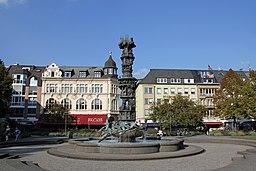 Koblenz im Buga Jahr 2011 Historiensäule