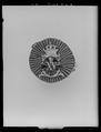 Kokard till Konung Karl XVs jaktklubbs uniform, Sverige 1863-1880 c - Livrustkammaren - 2228.tif