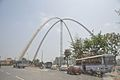Kolkata Gate Under Construction - Rabindra Tirtha Crossing - Rajarhat 2017-03-30 0854.JPG