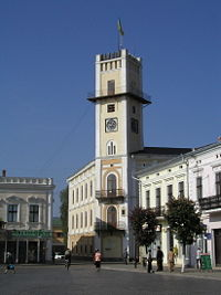 City Hall in Kolomyia
