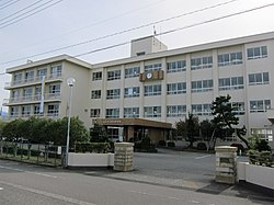 Konan-junior-high-school toyama-city 2018.jpg