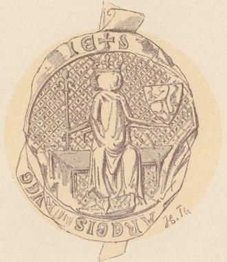 Haakon VI of Norway - The royal seal of Haakon VI