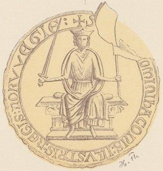 Haakon the Young - Image: Kong Haakon den Unge PI IV 1