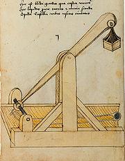 Konrad Kyeser, Bellifortis, Clm 30150, Tafel 02, Blatt 02v (Ausschnitt)
