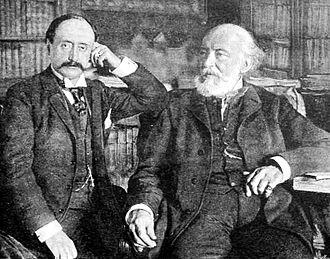 Ferenc Kossuth - Ferenc and Lajos Kossuth in 1892