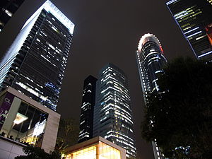 Kowloon Bay - High-rise office buildings in Kowloon Bay.