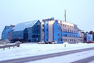 Yemelyanovo International Airport - Currently inactive terminal 2