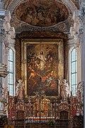 Kremsmünster Stiftskirche Altarbild Andreas Wolf-9009.jpg