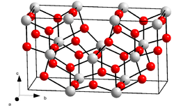 Kristallstruktur von Tantal(V)-oxid