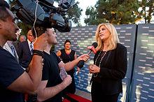 Kristen Johnston Speaks with the Media - 2014 Voice Awards