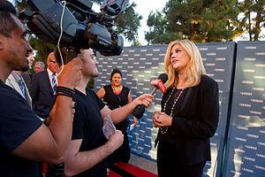 Kristen Johnston - Kristen Johnston Speaks with the Media - 2014 Voice Awards