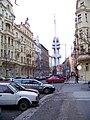 Krkonošská, od Čerchovské k věži.jpg