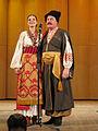 Kuban Cossack Choir at Gnessin Academy, Moscow 2013 - introduction.jpg