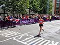 Kum-Ok Kim (Democratic People's Republic of Korea) - London 2012 Women's Marathon.jpg