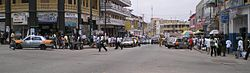 Kumasi highstreet (shopping street) – The Panoramic view.jpg