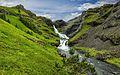 Kvernafoss Waterfall in Grundarfjörður Iceland - panoramio.jpg