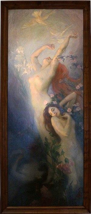 Victor Prouvé - Dawn (L'Aube), 1900
