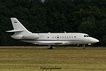 L1-01 Dassault Falcon 2000EX F2TH - Slovenian Air Force (28913547114).jpg