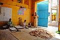 LANGAR; preparation area of free food to the needy at Golra Sharif 2.JPG