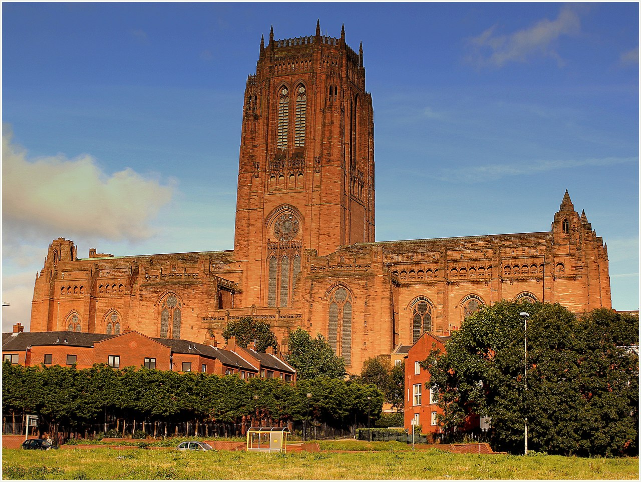 Imposing Liverpool cathedral