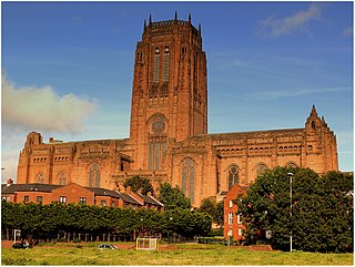 Liverpool Cathedral Church in Liverpool, United Kingdom