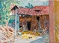 La Grange, 1919, Pierre Bonnard, Fondation Bemberg.jpg