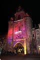 La Tour de la Grosse Horloge illuminée, Noël 2009 (13).JPG