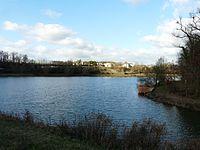 Lac de l'Escourou Saint-Sulpice-d'Eymet amont D25E.JPG