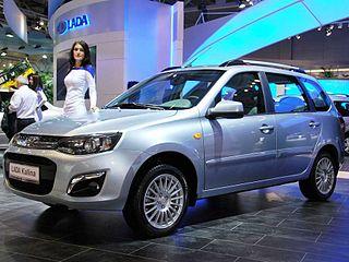 Lada Kalina Motor vehicle