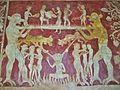 Ladder of Salvation fresco, Chaldon 3.JPG
