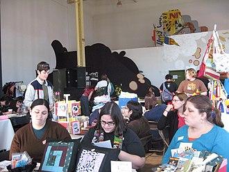Ladyfest - A craft fair at a Ladyfest