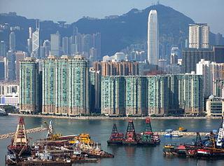 Laguna Verde (Hong Kong) residential complex in Kowloon, Hong Kong