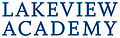 Lakeview Academy stacked logo in Pantone 295C blue.jpg